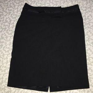Express Editor black pencil skirt